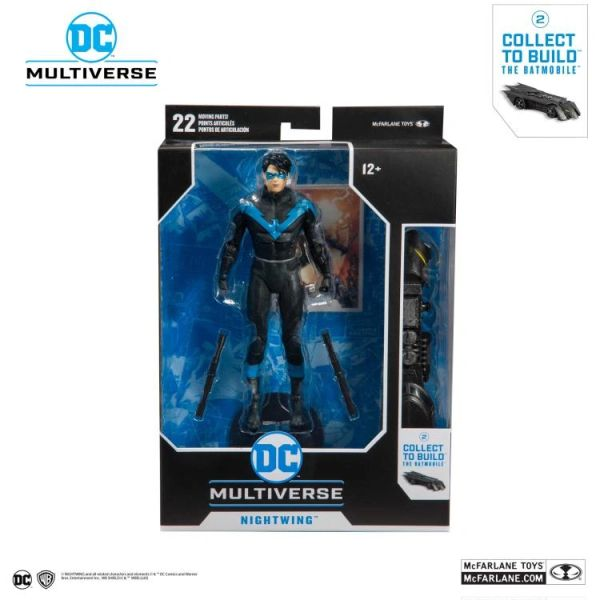 DC Multiverse Nightwing Action Figure (DC Rebirth Build-A-Batmobile)