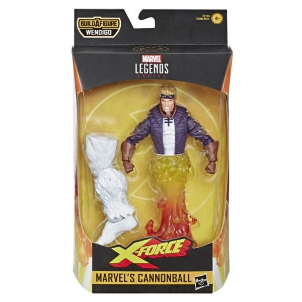 Marvel Legends X-Force Cannonball Action Figure