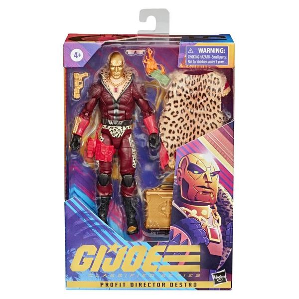 *PRE-SALE* G.I. Joe Classified Profit Director Destro Action Figure