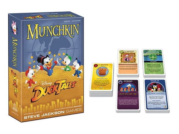 Munchkin: Disney DuckTales Card Game