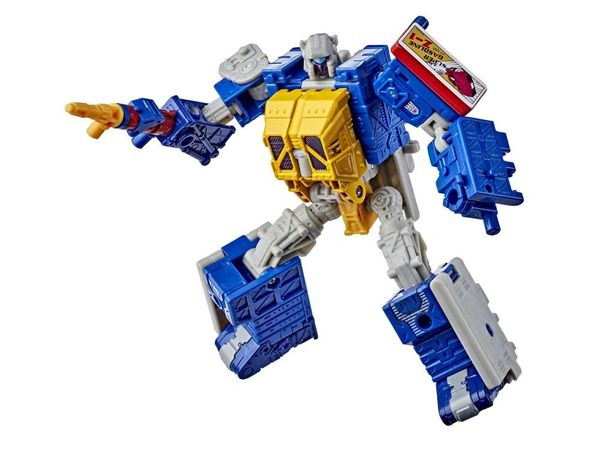 Transformers Generations Selects Deluxe Greasepit Action Figure