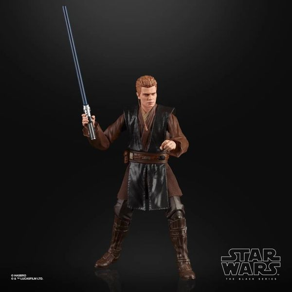 Star Wars Black Series Attack of the Clones Anakin Skywalker Action Figure