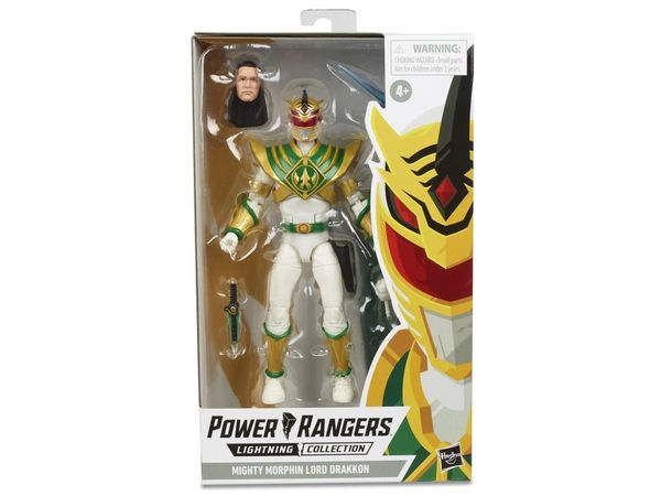 Mighty Morphin Power Rangers Lightning Collection Lord Drakkon Action Figure