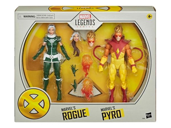 *PRE-SALE* Marvel Legends X-Men 20th Anniversary Rogue & Pyro Action Figure Set