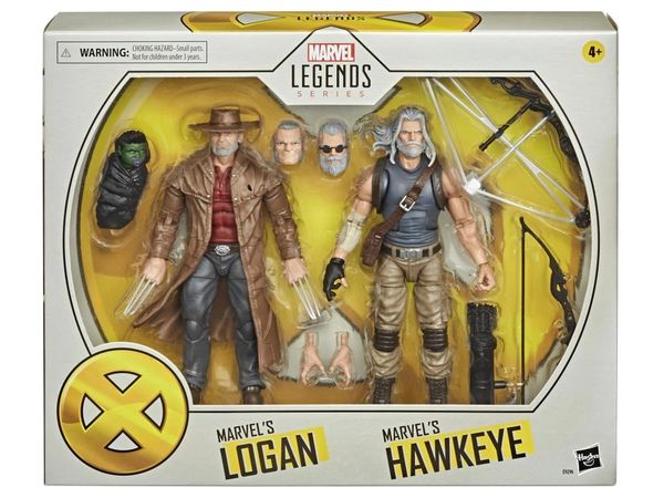 *PRE-SALE* Marvel Legends X-Men 20th Anniversary Old Man Logan & Hawkeye Action Figure Set