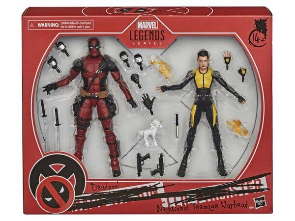 *PRE-SALE* Marvel Legends X-Men 20th Anniversary Deadpool & Negasonic Teenage Warhead Action Figure Set