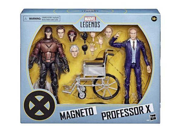 *PRE-SALE* Marvel Legends X-Men 20th Anniversary Magneto & Professor X Action Figure Set