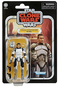 Star Wars: The Vintage Collection Clone Commander Wolffe (Clone Wars) Action Figure