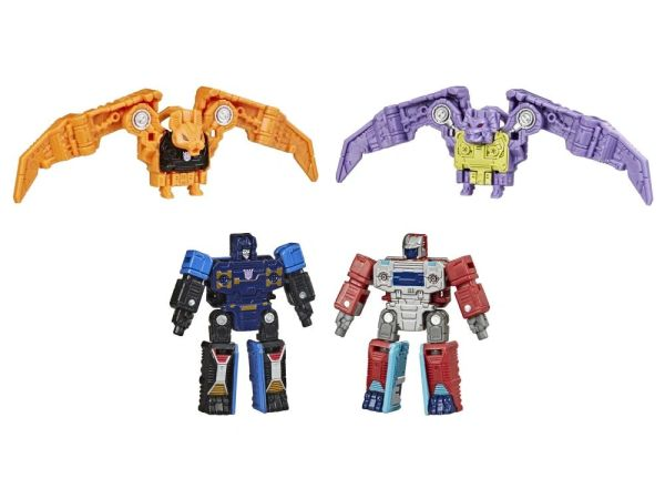 Transformers Generations Selects Micromaster Spy Patrol Elite Command Unit Action Figures