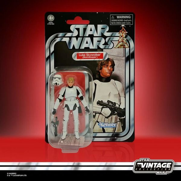 Star Wars: The Vintage Collection Stormtrooper Luke Skywalker (A New Hope) Action Figure