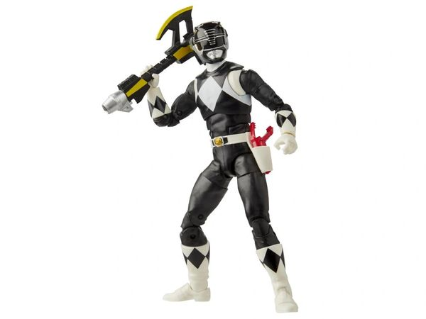 *PRE-SALE* Mighty Morphin Power Rangers Lightning Collection Black Ranger Action Figure