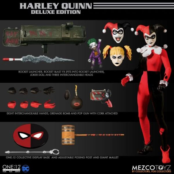 DC Comics One:12 Collective Deluxe Harley Quinn Action Figure