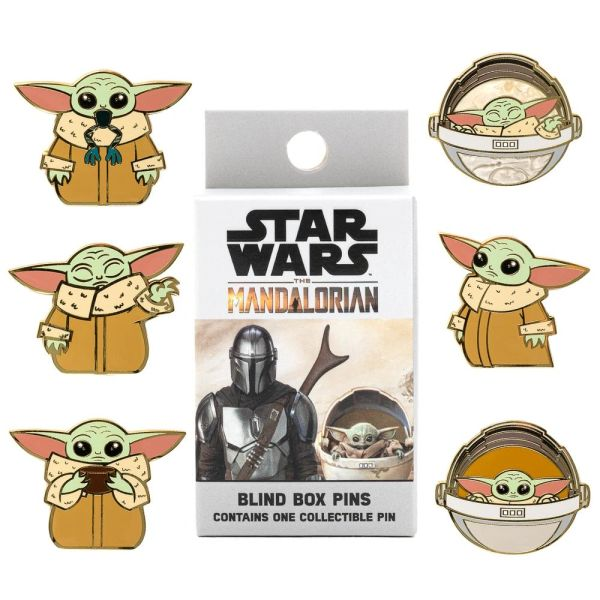 Loungefly The Mandalorian Child Blind Box Enamel Pin