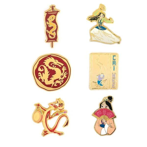 Loungefly Mulan Blind Box Enamel Pin