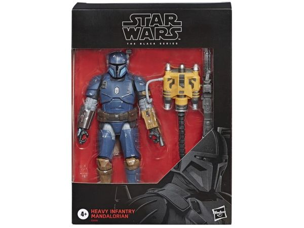 "Star Wars: The Black Series 6"" Heavy Infantry Mandalorian Action Figure"