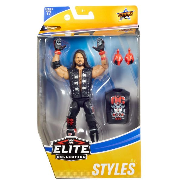 WWE Elite Collection Series 77 AJ Styles Action Figure