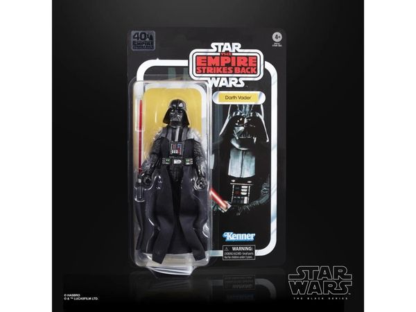 *PRE-SALE* Star Wars The Empire Strike Back 40th Anniversary Black Series Darth Vader Action Figure
