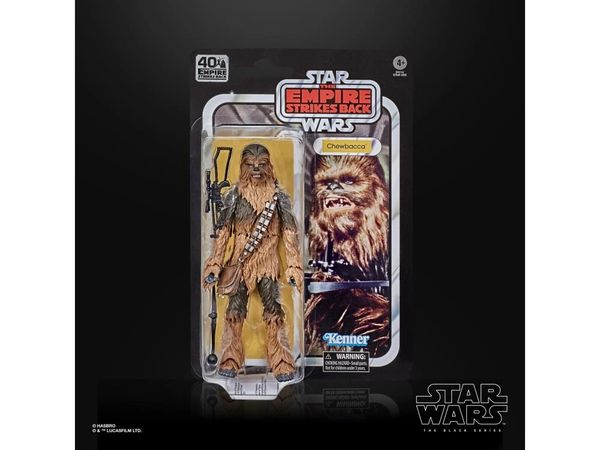 *PRE-SALE* Star Wars The Empire Strike Back 40th Anniversary Black Series Chewbacca Action Figure
