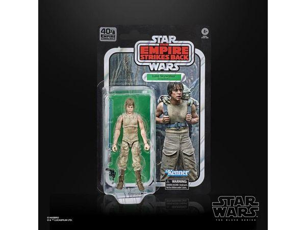 *PRE-SALE* Star Wars The Empire Strike Back 40th Anniversary Black Series Luke Skywalker (Dagobah) Action Figure