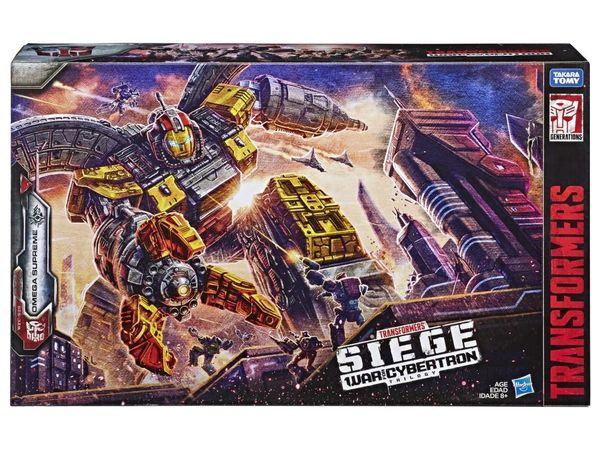 *PRE-SALE* Transformers War for Cybertron: Siege Titan Omega Supreme Action Figure