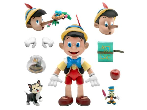 *PRE-SALE* Disney Ultimates Wave 1 Pinocchio Action Figure