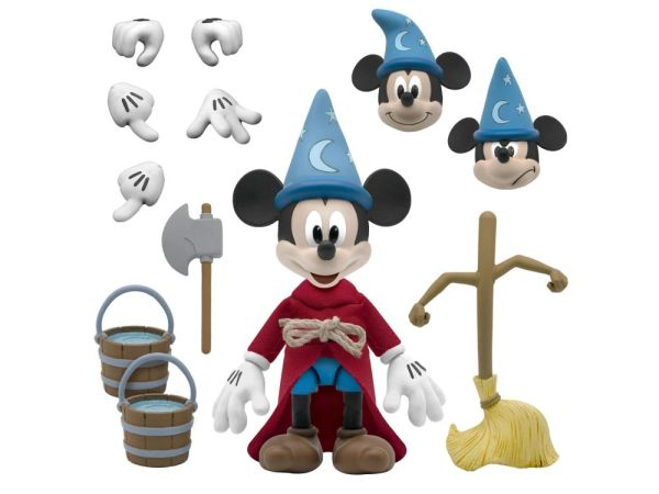 *PRE-SALE* Disney Ultimates Fantasia: The Sorcerer's Apprentice Mickey Mouse Action Figure