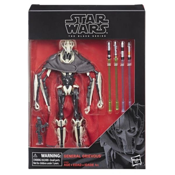 "*PRE-SALE* Star Wars: The Black Series 6"" Deluxe General Grievous (Revenge of the Sith) Action Figure"