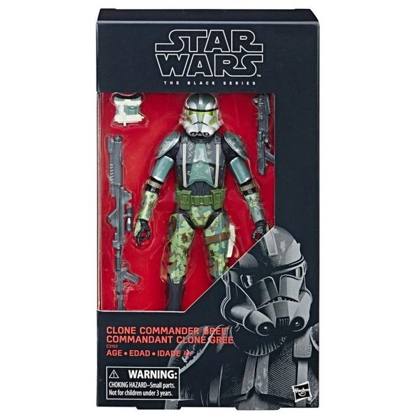"*PRE-SALE* Star Wars: The Black Series 6"" Clone Commander Gree (Revenge of the Sith) Action Figure"