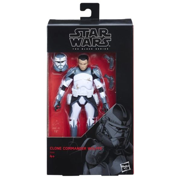 "*PRE-SALE* Star Wars: The Black Series 6"" Clone Commander Wolffe (The Clone Wars) Action Figure"