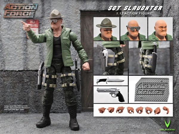 *PRE-SALE* Action Force Sgt. Slaughter 6-Inch Action Scale Figure