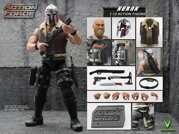 *PRE-SALE* Action Force Kerak 6-Inch Action Scale Figure