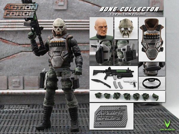 *PRE-SALE* Action Force Bone Collector 6-Inch Action Scale Figure
