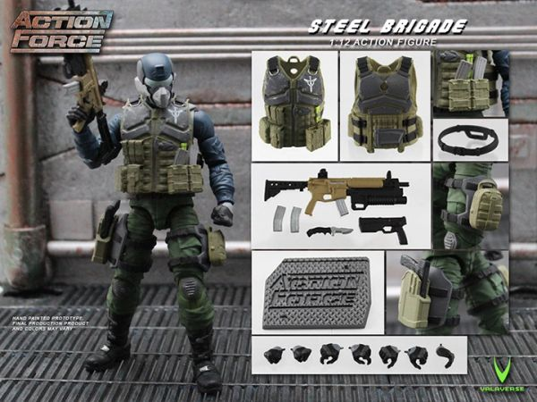 *PRE-SALE* Action Force Steel Brigade 6-Inch Action Scale Figure