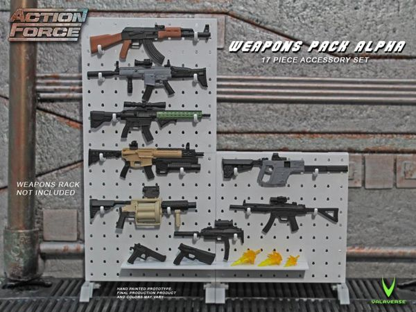 *PRE-SALE* Action Force Weapons Gear Pack (Alpha) Accessory Set