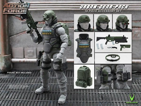 *PRE-SALE* Action Force Urban Gear Pack Accessory Set