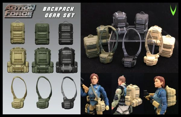 *PRE-SALE* Action Force Backpack Gear Accessory Set