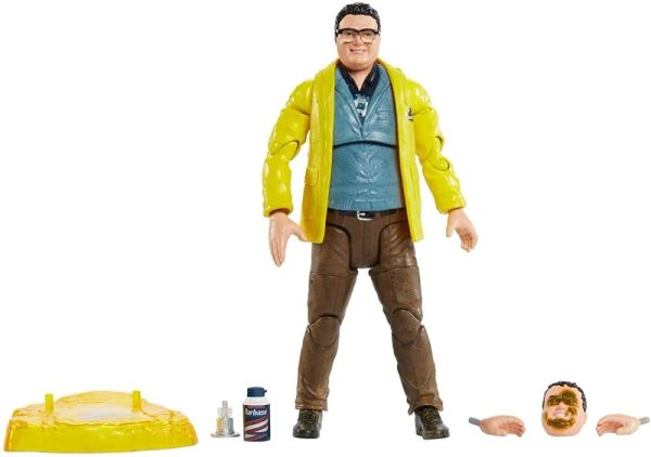 Jurassic Park Amber Collection Dennis Nedry Action Figure