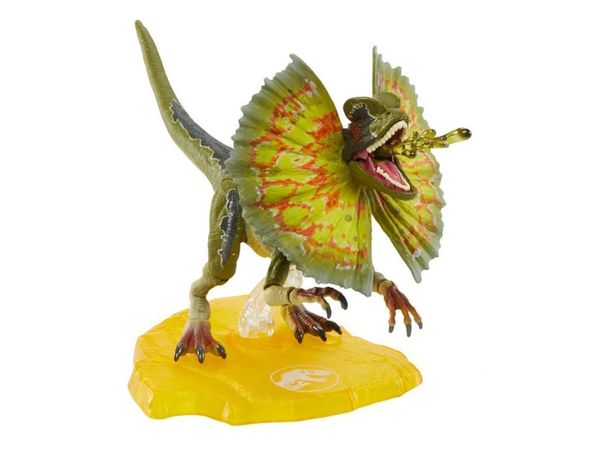 Jurassic Park Amber Collection Dilophosaurus Action Figure