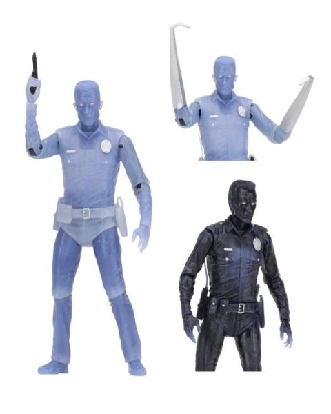 Terminator Tribute White Hot T-1000 Action Figure