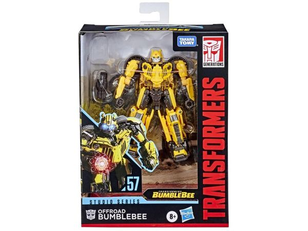*PRE-SALE* Transformers Studio Series No. 57 Deluxe Class Offroad Bumblebee Action Figure