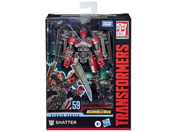 *PRE-SALE* Transformers Studio Series No. 59 Deluxe Class Shatter (Jet Mode) Action Figure