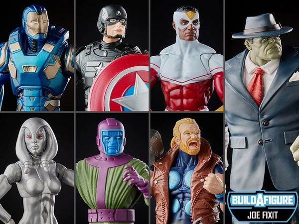 *PRE-SALE* Marvel Legends Avengers Joe Fixit BAF Set of 6 Figures