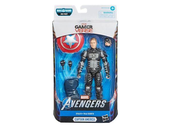 *PRE-SALE* Marvel Legends Avengers Gamerverse Stealth Captain America Action Figure (Joe Fixit Series)