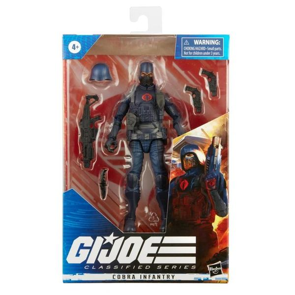 *PRE-SALE* G.I. Joe Classified Cobra Infantry Trooper Action Figure
