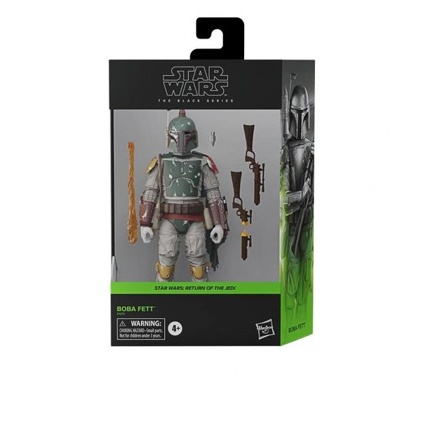 "*PRE-SALE* Star Wars: The Black Series 6"" Deluxe Boba Fett (Return of the Jedi) Action Figure"