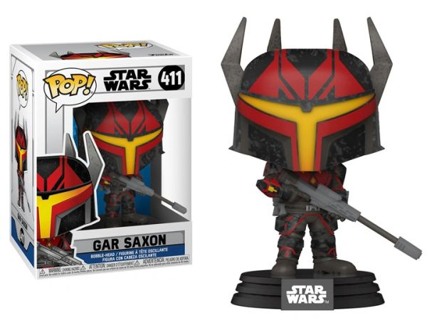 *PRE-SALE* Funko Pop! Star Wars: The Clone Wars - Mandalorian Captain Gar Saxon (Clone Wars)
