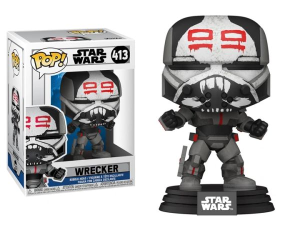 *PRE-SALE* Funko Pop! Star Wars: The Clone Wars - Wrecker (Clone Wars)