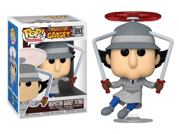 *PRE-SALE* Funko Pop! Animation: Inspector Gadget (Flying) #893