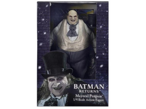 *PRE-SALE* Batman Returns Mayoral Candidate Penguin 1/4 Scale Action Figure