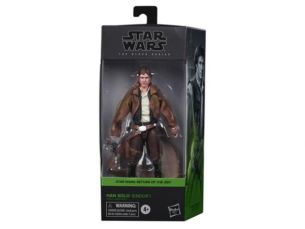 "*PRE-SALE* Star Wars: The Black Series 6"" Han Solo in Endor Gear (Return of the Jedi) Action Figure"